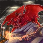 free request art: Draco by Black-Wing24