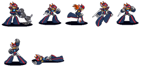 Fighting Game Style Axl Sheet by MHBarrel