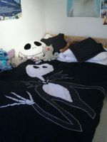 Jack Skellington - Bed covers by hypnocampus