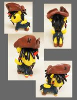 Jack Sparrow Unicorno by chibimonkies