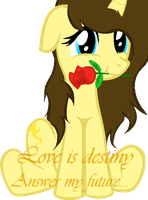 If love was destiny (vector) Happy valentines day. by katiecoolchic