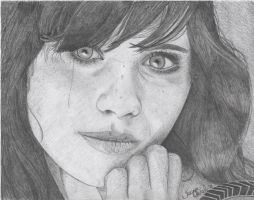 Zooey Deschanel by Nephthys76