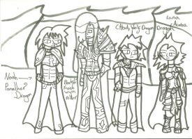 Two Worlds: Gift 1: Uncoloured by xxxBrokenSoulxxx