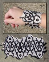 Blackwork Cuff by Ellygator