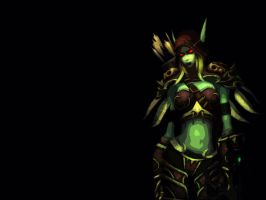 Sylvanas Windrunner Wallpaper by felflowne