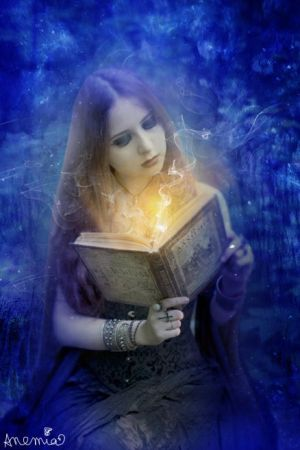 Magical Book by PlacidAnemia