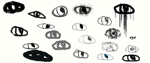 eyes in different forms by robbiebrown