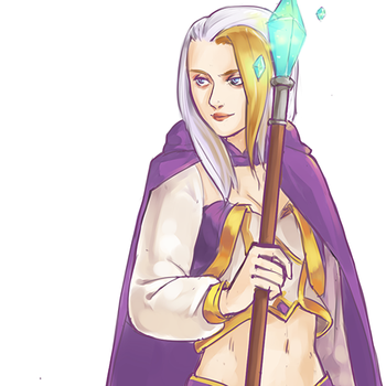 Jaina Proudmoore by lionrion