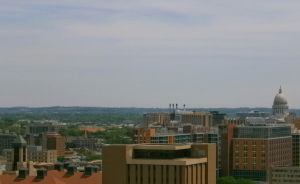 Roof Top Madison #2 by homeisthewilderness
