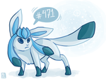 Glaceon by EquinoxWalker