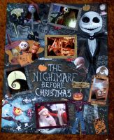 Nightmare Before Xmas Collage by kaedralynn