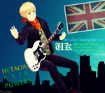 [MMD] England CD Front Cover - Hetalia by Fallon234