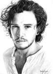 Jon Snow / Kit Harington by Jagtru
