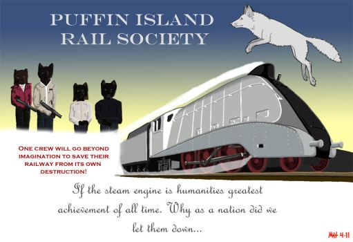 Puffin Rail by DragonWolfACe