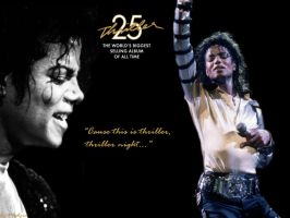 Thriller 25th Anniversary by MDirtyDiana
