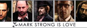 Mark Strong is Love by KateFromMoon