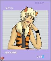 Gijinka Submission Arcanine by Duelistabbeyryou
