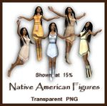 Native American Figures by shd-stock