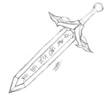 The Runic Blade by Infernal-Mercy