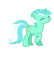 Lyra happy face by IamthegreatLyra