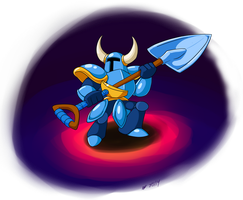 Shovel Knight by Cogmoses