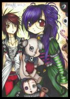 .. The Mortal Toys .. coloured by zenab-tareef