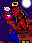 Midnight Meet-up (SpideyPool) by YaoiLover113