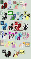 Old OC's Adoptables Part 2 - READ DESCRIPTION by iPandadopts
