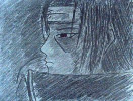 Itachi Sketch... by dragnclaw