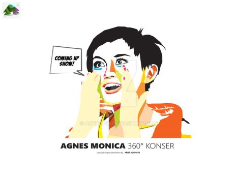 Wpap Agnes Monica 2012 by artrief13