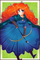 Merida - BRAVE by Demachic