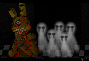 Five Nights at Freddy's. The end. by OstinTC