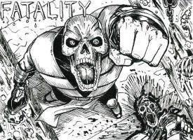 Scorpion Fatality ATC Inks by DKuang