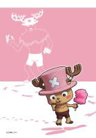 One Piece : Tony Tony Chopper by zedew