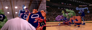 The Monstars Together (Space Jam) by dlee1293847