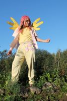Gone With the Wind - Fluttershy Cosplay by Drako1997