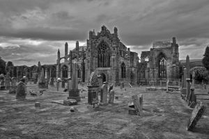 Melrose  Abbey 2 by CitizenFresh