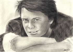 Michael J. Fox by takethatina