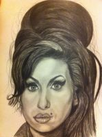 Amy Winehouse by bengray94