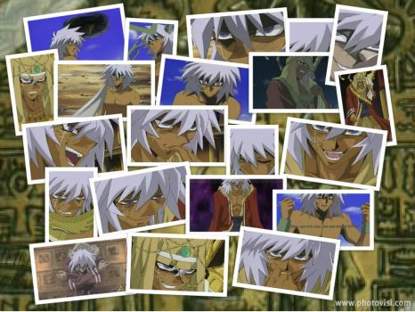 YGO- Thief King Bakura by EmotionalDisaster666