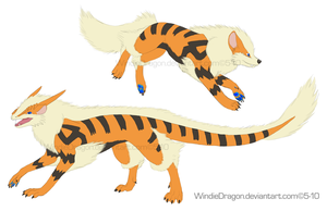 Windie the Dragon Ref by WindieDragon