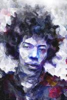 Jimi hendrix by ThunderBR