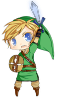 Chibi Link by mintgold-sky