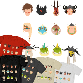 Httyd2 T Shirt by majumi