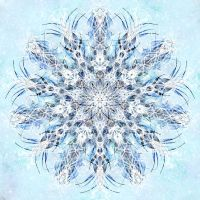 Fractaled Thoughts: The Second Snowfall by Romnil