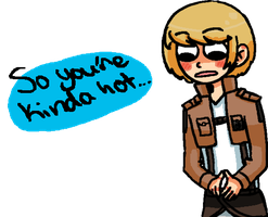 Armin Thinks You're Hot by Sellotape-of-Love
