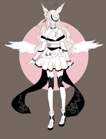 [Create Your Character Event] White Soul by Dehybi-Adopts