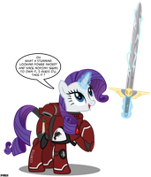 Rarity found a power sword by A4R91N