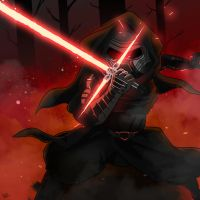 Kylo Ren by smokeragon