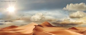Desert Matte - My photoshop practice by hopeforalice